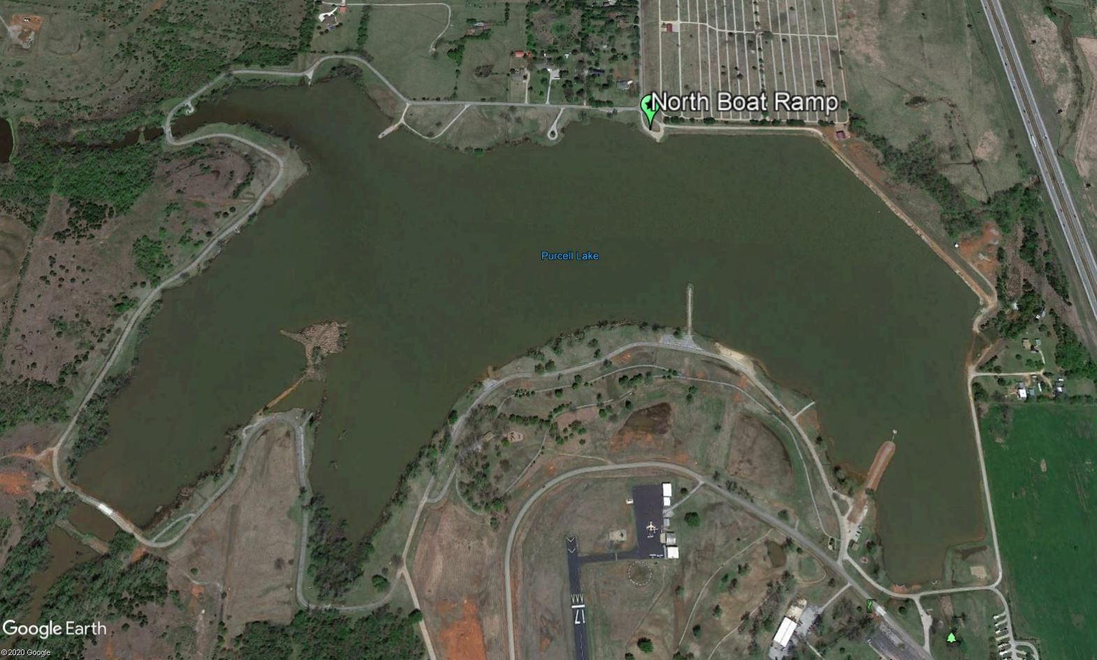 North Boat Ramp Location 1